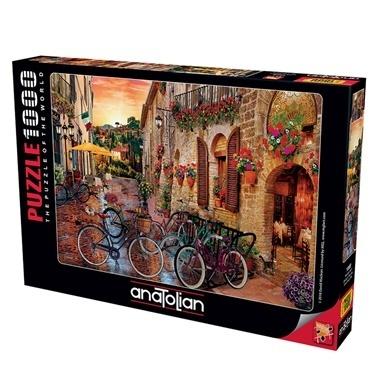 Anatolian  Puzzle 1000 Parça Toscana Keyfi 1068 Renkli